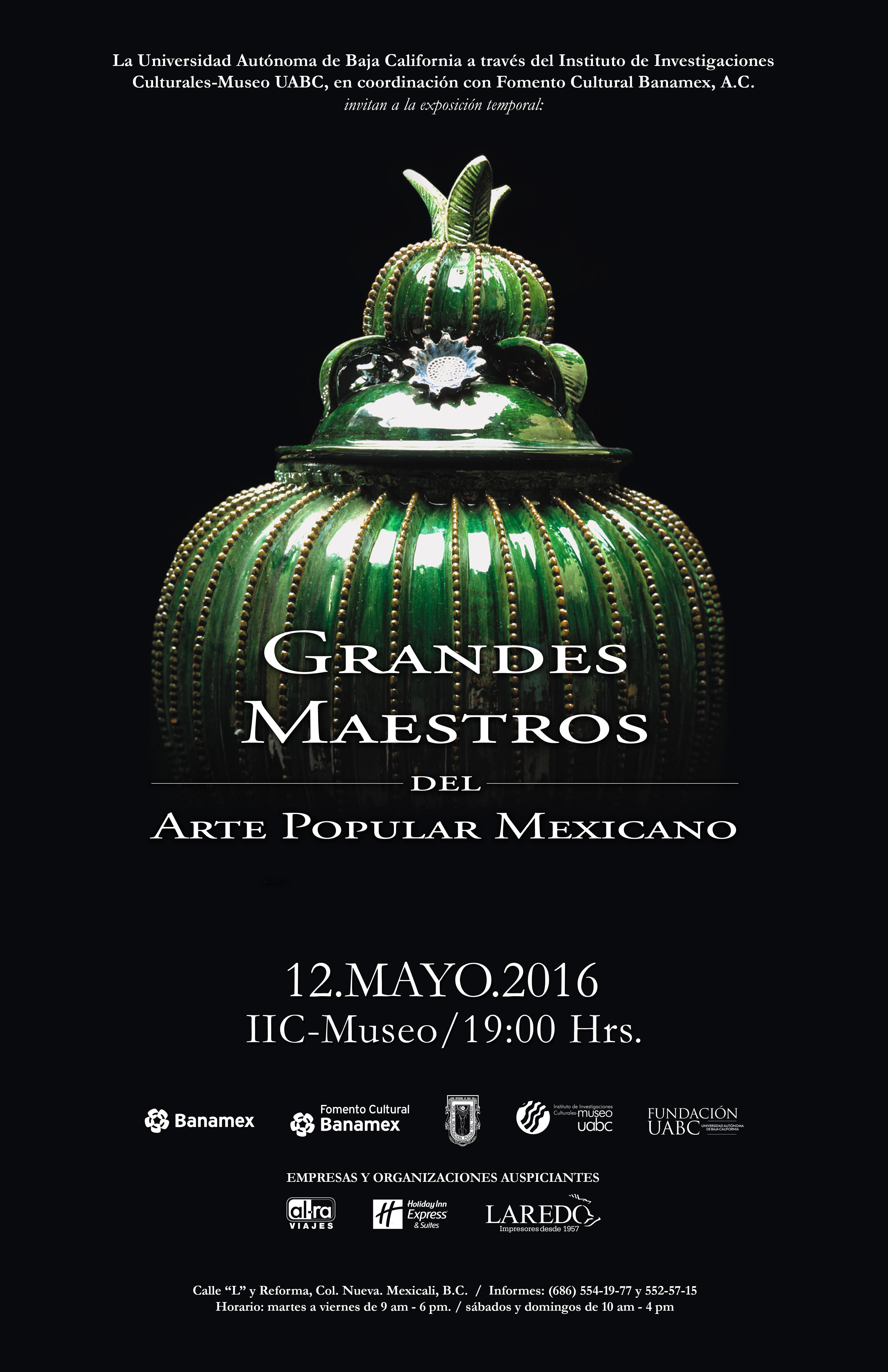 Grandes Maestros del Arte Popular Mexicano