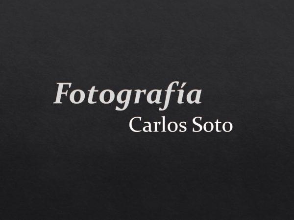 Fotografía Carlos Soto