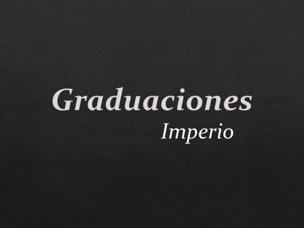 Graduaciones Imperio